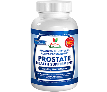 Activa Naturals Prostate Health Supplement Review - For Increased Prostate Support