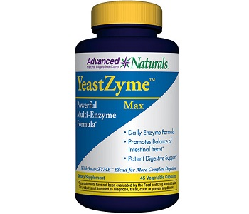 Advanced Naturals Yeast Zyme Max Review - For Relief From Yeast Infections