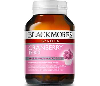 Blackmores Cranberry Review - For Relief From Urinary Tract Infections