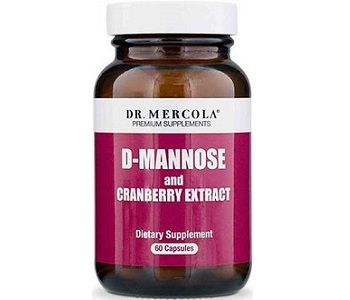 Dr Mercola D-Mannose with Cranberry for Urinary Tract Infection