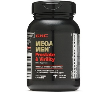 GNC Mega Men Prostate and Virility Review - For Increased Prostate Support