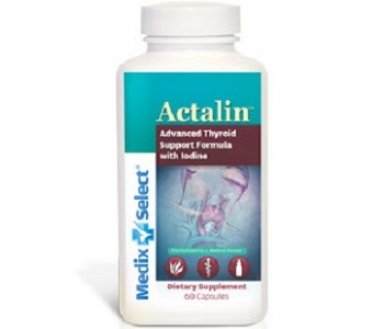 Medix Select Actalin Review - For Increased Thyroid Support