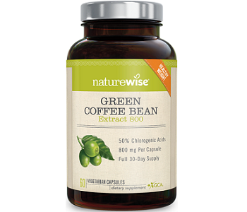 Naturewise Green Coffee Bean Extract Weight Loss Supplement Review