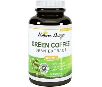 Natures Design Green Coffee Bean Extract Weight Loss Supplement Review