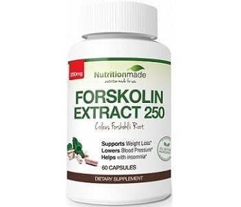 Nutrition Made Forskolin Extract 250 Weight Loss Supplement Review