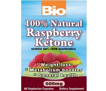 Bio Nutrition 100% Natural Raspberry Ketones for Weight Loss