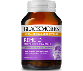 Blackmores REME-D For Migraine Headaches Review - For Symptomatic Relief From Migraines