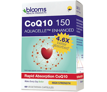 Blooms CoQ10 150 AquaCelle Enhanced Review - For Cognitive And Cardiovascular Support