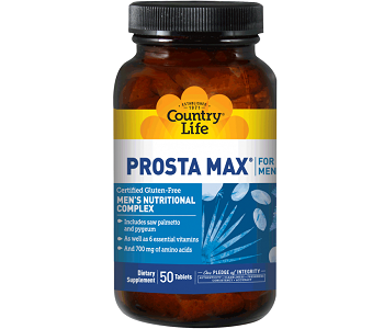 Country Life Prosta-Max for Men Review - For Increased Prostate Support
