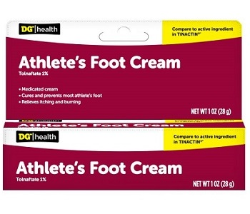 Dollar General Athlete's Foot Cream Review - For Reducing Symptoms Associated With Athletes Foot