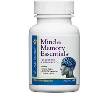 Dr. Whitaker Mind & Memory Essentials Review - For Improved Cognitive Function And Memory