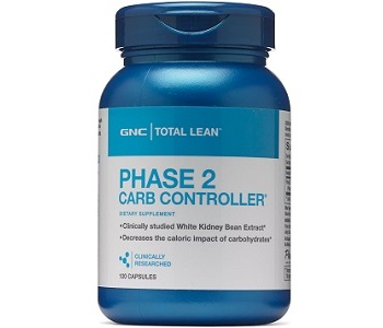 GNC Total Lean Phase 2 Carb Controller for Weight Loss