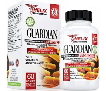 Helix Healthstore Guardian Probiotics Review - For Increased Digestive Support