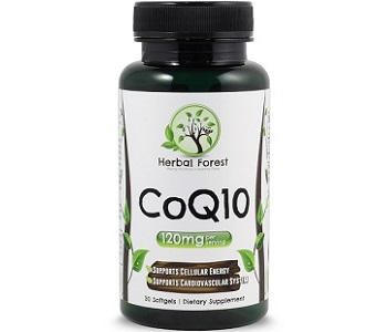 Herbal Forest CoQ10 Review - For Cognitive And Cardiovascular Support