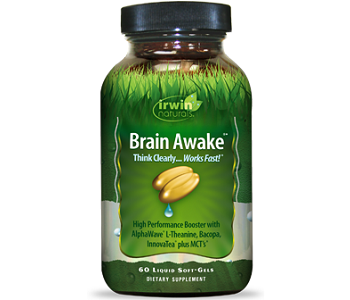 Irwin's Naturals Brain Awake Review - For Improved Cognitive Function And Memory