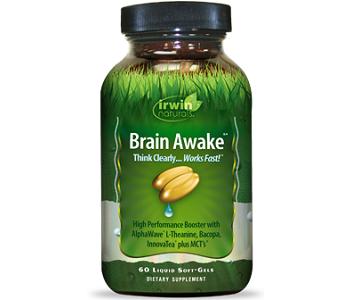 Irwin's Naturals Brain Awake for Brain Booster