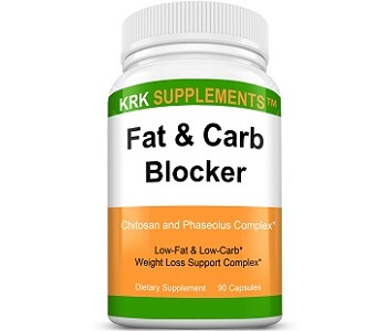 KRK Supplements Fat & Carb Blocker Weight Loss Supplement Review