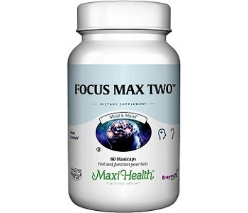 Maxi Health Focus Max Two Review - For Improved Cognitive Function And Memory