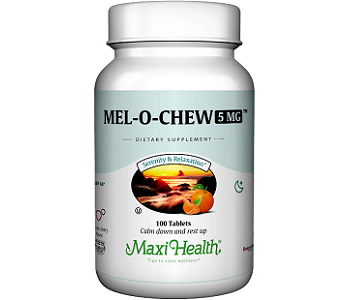 Maxi Health Mel-O-Chew Review - For Relief From Jetlag