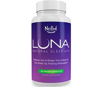Nested Naturals Luna Natural Sleep Aid Review - For Restlessness and Insomnia