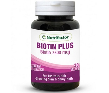 Nutrifactor Biotin Plus Review - For Hair Loss, Brittle Nails and Problematic Skin