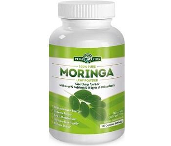Pura Vida Moringa Leaf Powder Review - For Weight Loss and Improved Moods