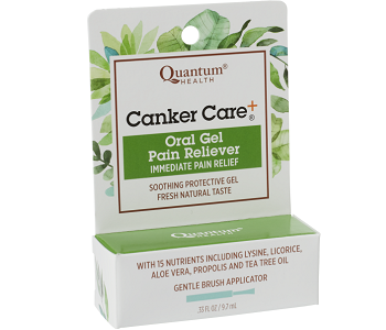 Quantum Health Canker Care Review - For Relief From Mouth Ulcers And Canker Sores
