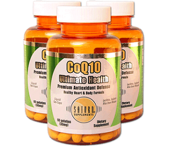 Saturn Supplements CoQ10 Review - For Cognitive And Cardiovascular Support