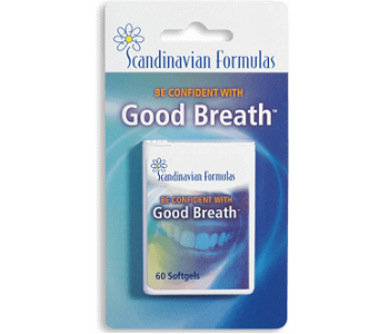 Scandinavian Formulas Good Breath for Bad Breath & Body Odor