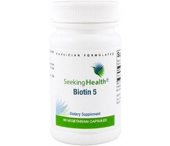 Seeking Health Biotin 5 Review - For Hair Loss, Brittle Nails and Problematic Skin