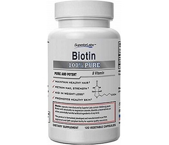 Superior Labs Biotin Review - For Hair Loss, Brittle Nails and Problematic Skin