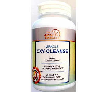 The 1-Minute Miracle Oxy-Cleanse Review - For Flushing And Detoxing The Colon