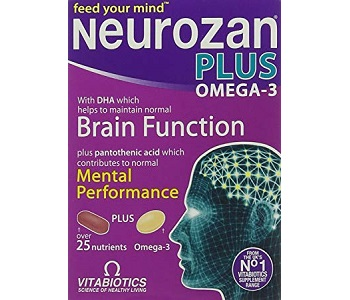 Vitabiotics Neurozan Plus Omega-3 Review - For Improved Cognitive Function And Memory