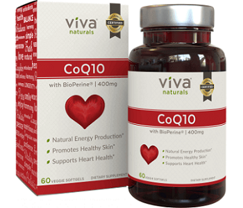 Viva Naturals CoQ10 Review - For Cognitive And Cardiovascular Support