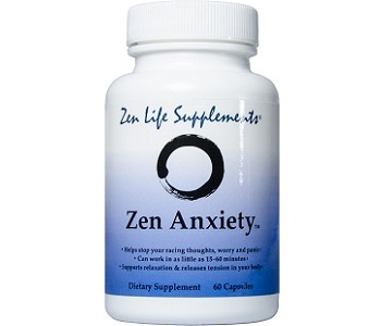Zen Life Anxiety Review - For Relief From Anxiety And Tension