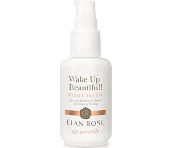 Elan Rose SkinCare Wake Up Beautiful! Night Serum Review - For Younger Healthier Looking Skin