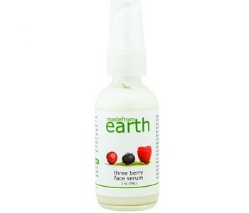 Made From Earth Three Berry Face Serum Review - For Younger Healthier Looking Skin
