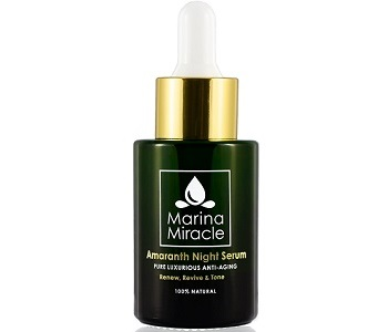 Marina Miracle Amaranth Night Serum Review - For Younger Healthier Looking Skin