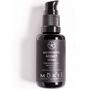 Mukti Age Defiance Night Serum Review - For Younger Healthier Looking Skin