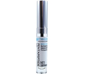 OPTIMIZED Pentapeptide 17 & Hyaluronic Acid Max Strength Growth Serum for Eye Lash & Eye Brow