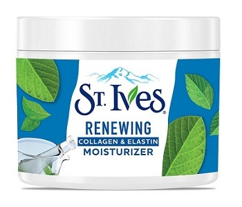 St Ives Renewing Collagen and Elastin Moisturizer Review - For Younger Healthier Looking Skin
