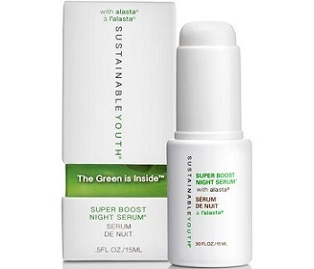 Sustainable Youth Super Boost Night Serum Review - For Younger Healthier Looking Skin