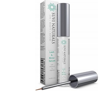 Suvi Naturals Lash & Brow Serum Review - For Fuller Longer Looking Lashes and Brows